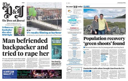 The Press and Journal Moray – September 19, 2019