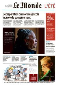 Le Monde du Jeudi 8 Août 2019
