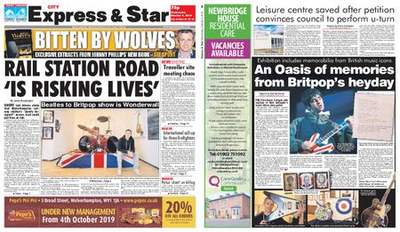 Express and Star City Edition – October 09, 2019