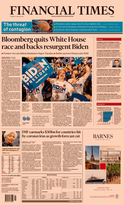Financial Times Europe – 5 March 2020