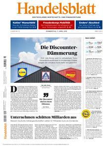 Handelsblatt - 11. April 2019