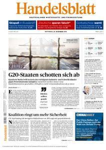 Handelsblatt - 28. Dezember 2016