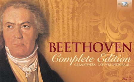 Ludwig Van Beethoven - Beethoven Complete Edition: Box Set 86CDs (2013)