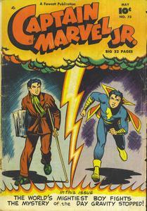 [1949-05] Captain Marvel Junior 073 ctc with fiche fills repost