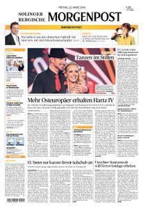 Solinger Morgenpost – 22. März 2019