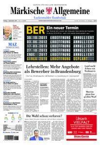 Märkische Allgemeine Luckenwalder Rundschau - 01. September 2017