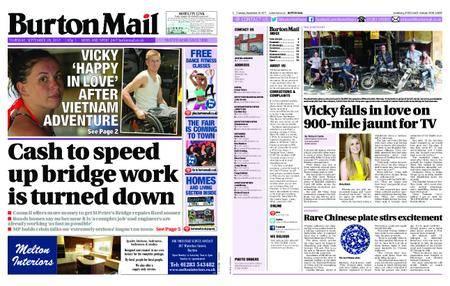 Burton Mail – September 28, 2017