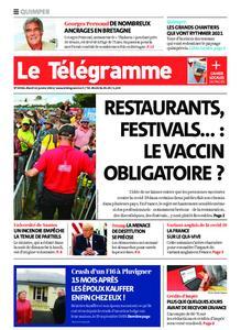 Le Télégramme Quimper – 12 janvier 2021