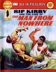 Super-Detective Library 142-Rip Kirby and the Case of the Man from Nowhere Bogof39