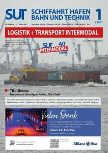 Schiffahrt Hafen Bahn und Technik - Januar 2021