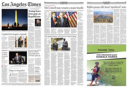 Los Angeles Times – January 13, 2021