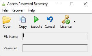 TriSun Access Password Recovery 3.0 Build 013