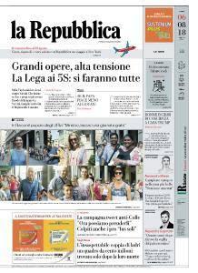 la Repubblica - 6 Agosto 2018