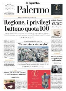 la Repubblica Palermo - 12 Dicembre 2019