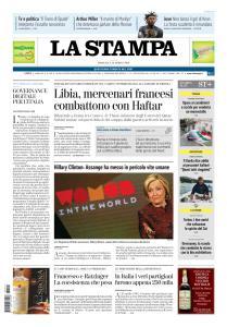 La Stampa Torino Provincia e Canavese - 14 Aprile 2019