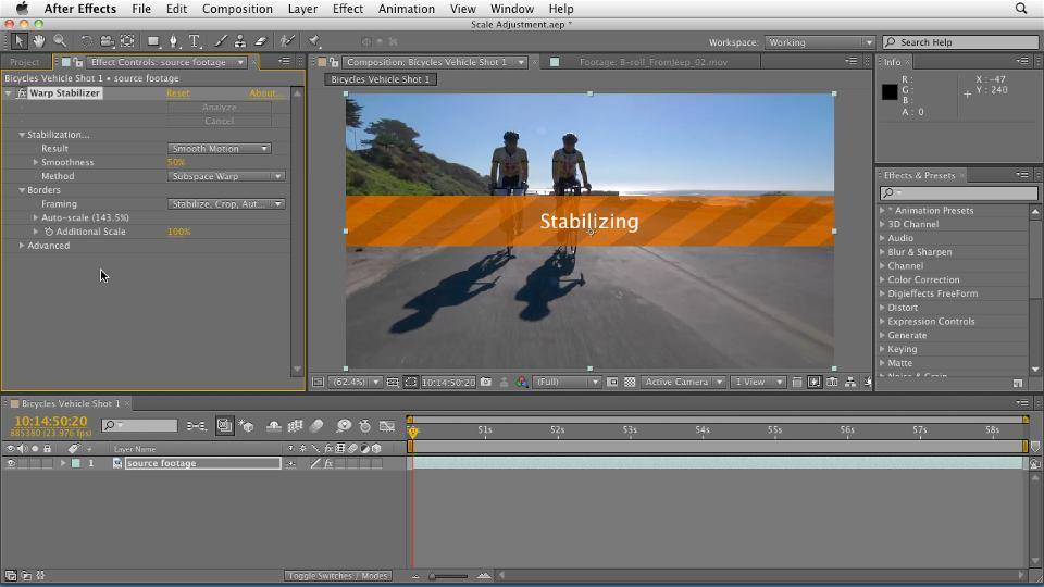 After Effects CS5.5 New Features