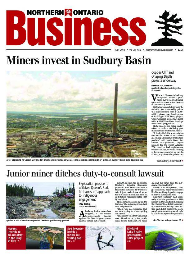 Northern Ontario Business – April 2018