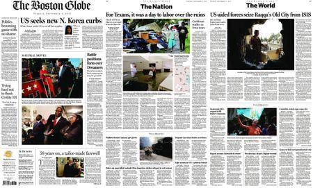 The Boston Globe – September 05, 2017