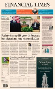 Financial Times Asia - March 18, 2021