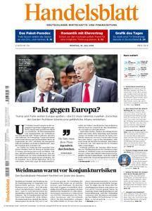 Handelsblatt - 16. Juli 2018