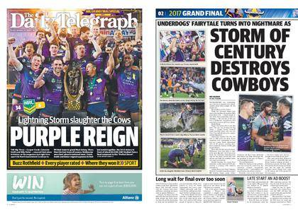 The Daily Telegraph (Sydney) – October 02, 2017