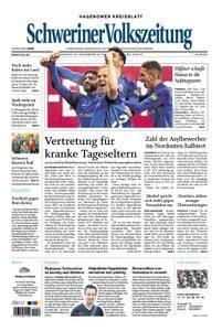 Schweriner Volkszeitung Hagenower Kreisblatt - 27. November 2017