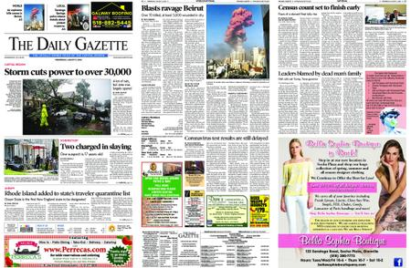 The Daily Gazette – August 05, 2020