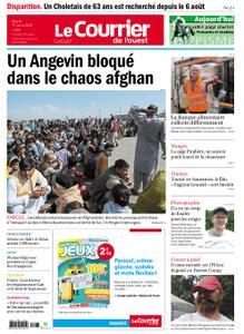 Le Courrier de l'Ouest Cholet – 17 août 2021