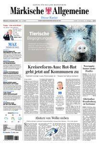 Märkische Allgemeine Dosse Kurier - 08. November 2017