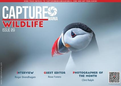 Capture Mania Photography Magazine Wildlife - Issue 9 2019