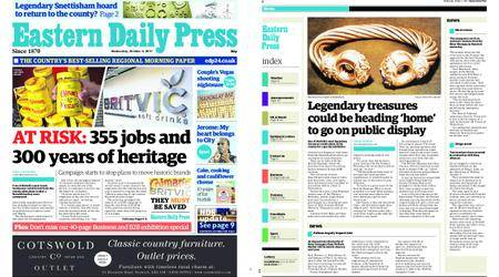 Eastern Daily Press – October 04, 2017