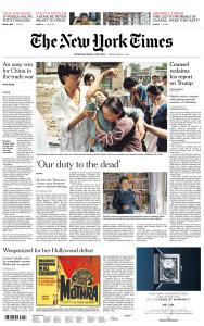 International New York Times - 31 May 2019