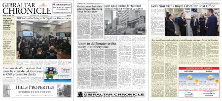Gibraltar Chronicle – 16 April 2021