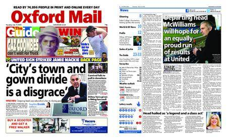 Oxford Mail – July 19, 2018