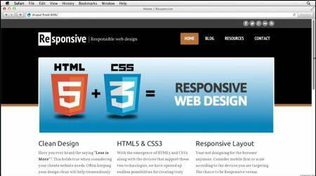 Responsive Design with Drupal [repost]
