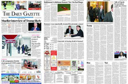 The Daily Gazette – January 09, 2018