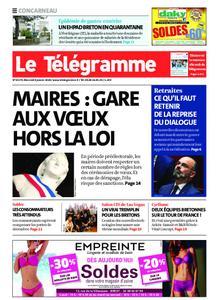 Le Télégramme Concarneau – 08 janvier 2020