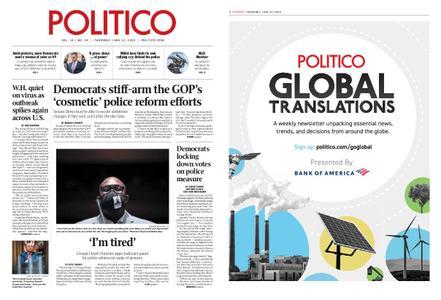Politico – June 11, 2020