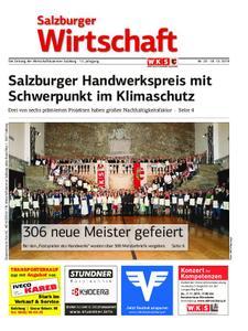 Salzburger Wirtschaft – 18. Oktober 2019