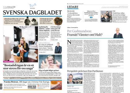 Svenska Dagbladet – 15 februari 2019