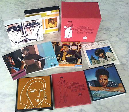 Ella Fitzgerald - The Complete Song Books (1956-1964) (1993) 16CD *Repost*