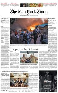 International New York Times - 11 September 2020
