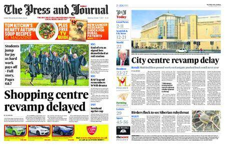 The Press and Journal Moray – October 07, 2017