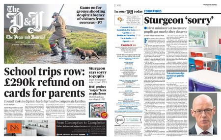 The Press and Journal Moray – August 11, 2020
