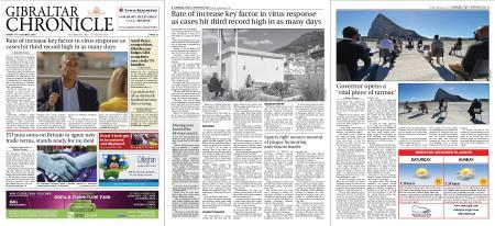 Gibraltar Chronicle – 16 October 2020