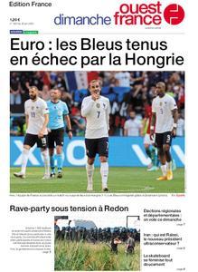 Ouest-France Édition France – 20 juin 2021