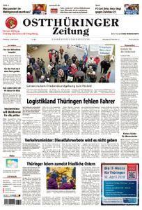 Ostthüringer Zeitung Gera - 03. April 2018