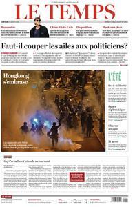 Le Temps - 02 juillet 2019