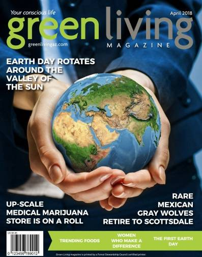 Green Living - April 2018