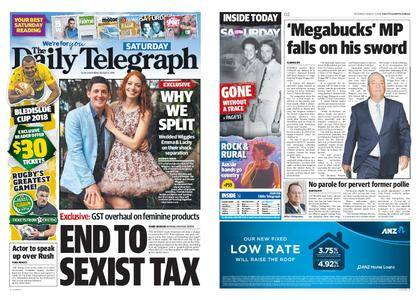 The Daily Telegraph (Sydney) – August 04, 2018